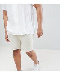ASOS - Short skinny avec ourlets retrousss - Lyst