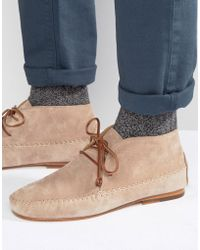 Bobbies - Le Marabout Suede Boots - Lyst