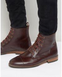 Bobbies - Le Luthier Lace Up Boots - Lyst