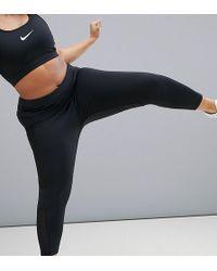 Nola - Mesh Panel Gym Legging - Lyst
