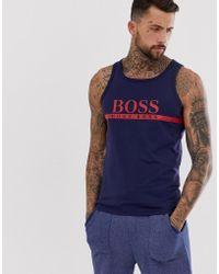 70ee1a31e7477 Lyst - Men s BOSS Sleeveless t-shirts Online Sale