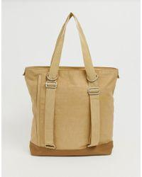 ASOS - Tote Backpack Hybrid In Nylon - Lyst