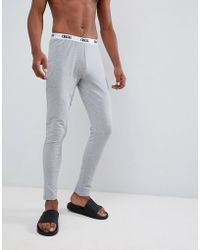 8ced5a4bcf28 Tommy Hilfiger Authentic Long Johns With Contrast Logo Waistband In ...