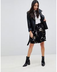 B.Young - Floral Skirt - Lyst