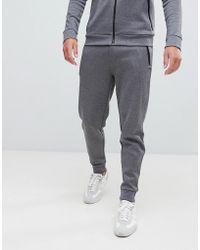 HUGO - Derg Slim Fit Joggers In Grey - Lyst