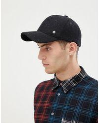 41bf590af73 Lifers Neppy Snapback Cap In Black in Black for Men - Lyst