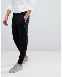 357b180e840ba9 Polo Ralph Lauren - Pantalon de jogging ajust resserr aux chevilles avec  logo joueur de polo