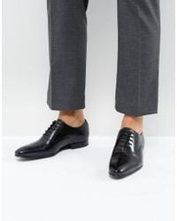 Ted Baker - Murain Leather Oxford Shoes In Black - Lyst
