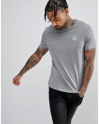 North Sails - Patch Logo T-shirt In Grey - Lyst