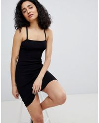 Bershka - Cami Dress In Black - Lyst