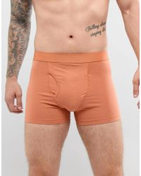 Weekday - Johnny Boxers In Orange - Lyst