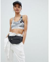 Stussy - Bralet With Logo Taping In Camo - Lyst