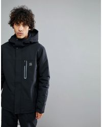 Billabong - All Day Snow Jacket In Black - Lyst