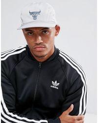 adidas Originals - Bull Caps In Grey - Lyst