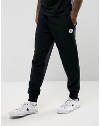 Converse | Chuck Patch Joggers In Black 10004631-a04 | Lyst