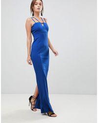 Coast - Zoe Strappy Maxi Prom Dress - Lyst