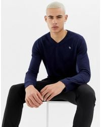 Abercrombie & Fitch - V Neck Jumper - Lyst