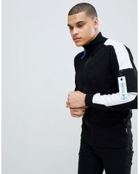 Jack & Jones - Core Track Top Jacket With Arm Stripe - Lyst