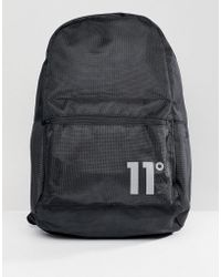 11 Degrees | Backpack In Black | Lyst