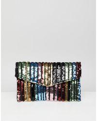 New Look - Rainbow Clutch Bag - Lyst