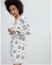 ONLY - Festival Print Playsuit - Lyst