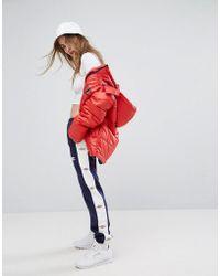 Umbro - Wide Leg Tracksuit Bottoms With Leg Logo - Lyst