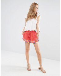 Piper - Java Tassel Shorts - Lyst