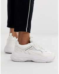 Chunky sneakers en blanco Marvin