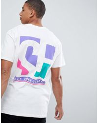 New Look - T-shirt With San Fran Print In White - Lyst