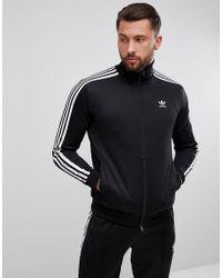adidas Originals - Adicolor Beckenbauer Track Jacket In Black Cw1250 - Lyst