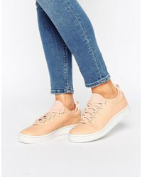 K-swiss - Roy Ankle Sock Trainers In Pink - Lyst