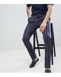 Heart & Dagger - Super Skinny Trousers With Side Tape - Lyst