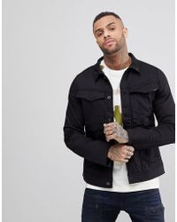 G-Star RAW - Vodan 3d Slim Denim Jacket - Lyst
