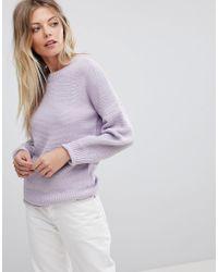 Oasis - Oversized Balloon Sleeve Sweater - Lyst