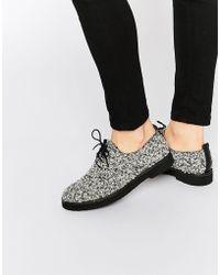 Miista - Eloise Lace Up Flat Shoes - Lyst