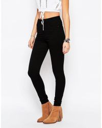ONLY - Royal High Waist Skinny Jeans - Lyst