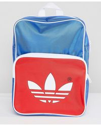 adidas Originals - Adicolor Retro Backpack In Blue Cw2619 - Lyst