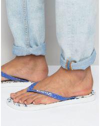 Gandys - Flip Flops Splat - Lyst