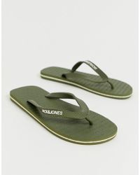 Jack & Jones - Flip Flops With Branded Rubber Strap - Lyst