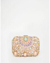 Vintage Styler | Embellished Gem Clutch Bag | Lyst
