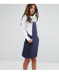 ADPT - Tall Shed Overall Mini Dress - Lyst