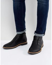 New Look | Desert Boots In Black | Lyst