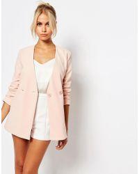 Fashion Union - Asymetric Blazer - Lyst