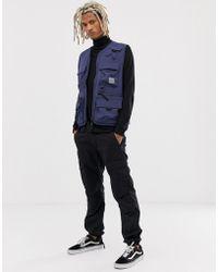 Carhartt WIP - Elmwood Military Pocket Vest In Blue - Lyst