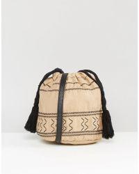 Gracie Roberts - Tulum Drawstring Cross Body Bag - Lyst