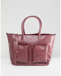 Matt & Nat - Tote Bag With Front Pockets - Lyst