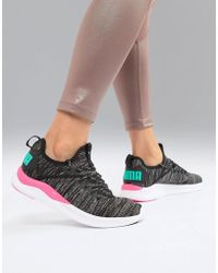 PUMA - Ignite Flash Evoknit Sneaker, - Lyst