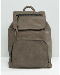 ALDO - Simple Backpack With Front Pocket - Lyst