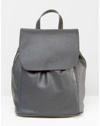 Pull&Bear - Minimal Backpack With Side Zip Detail - Lyst