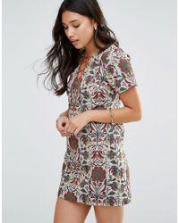 Millie Mackintosh - Mini Tapestry Dress - Lyst